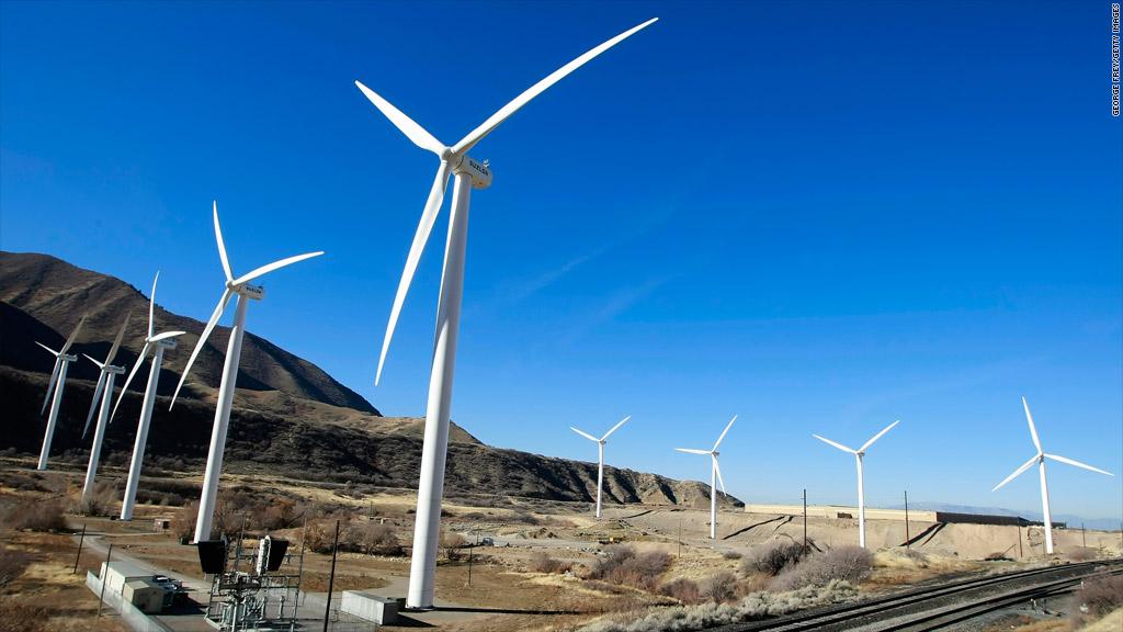 wind turbine green stimulus