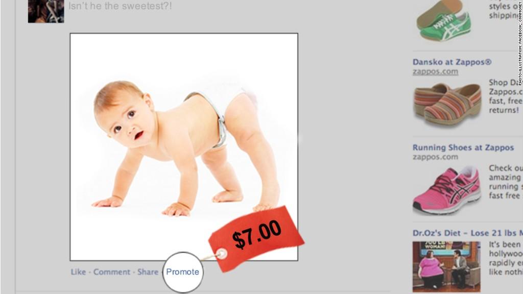 facebook baby promote