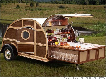 Bulleit Woody Tailgate Trailer - Neiman Marcus: 9 \'fantasy gifts\' of ...