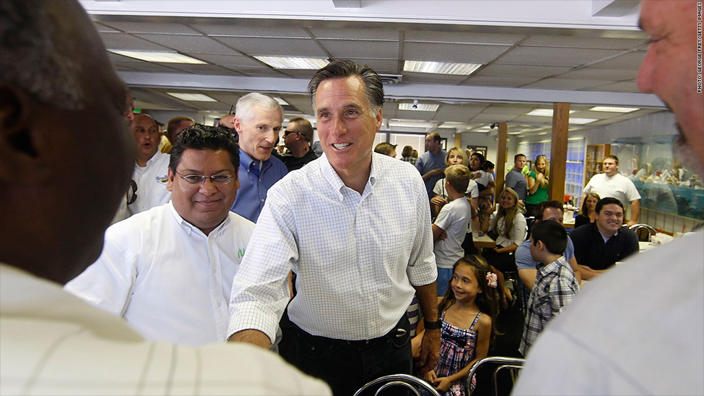 romney small business owners