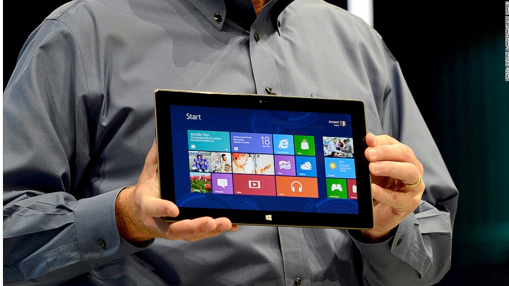 Steve Ballmer Surface tablet