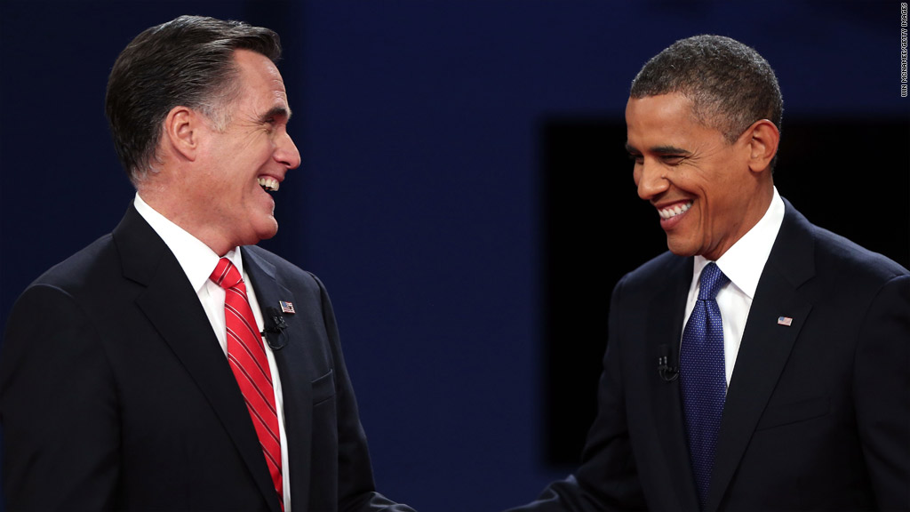 obama romney jobs