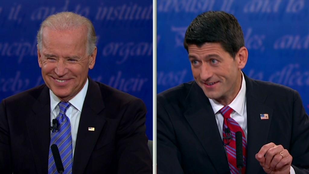 Vice President debate in 99 secs
