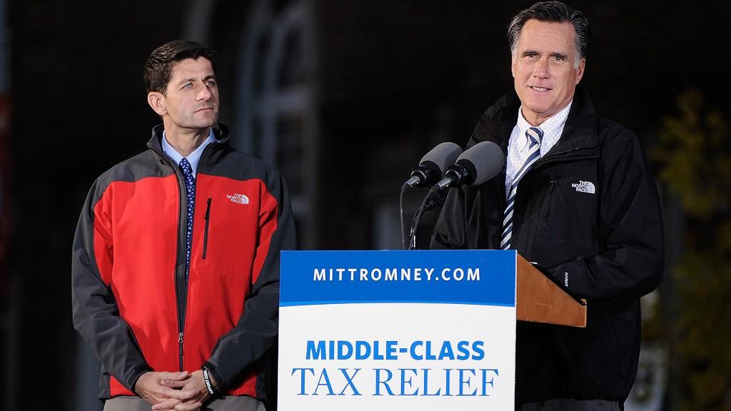 Paul Ryan and Mitt Romney