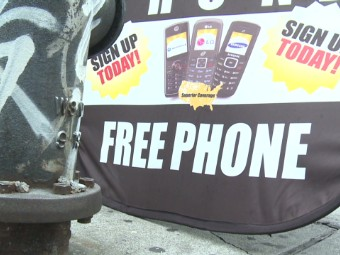 Who gets rich off 'free' government phones