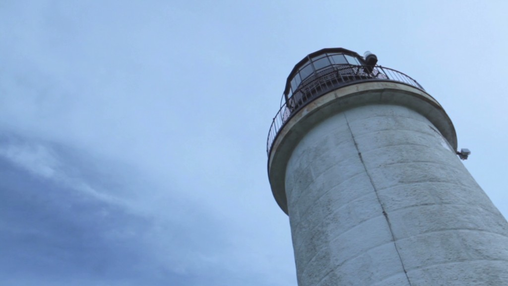 Life inside a remote island lighthouse