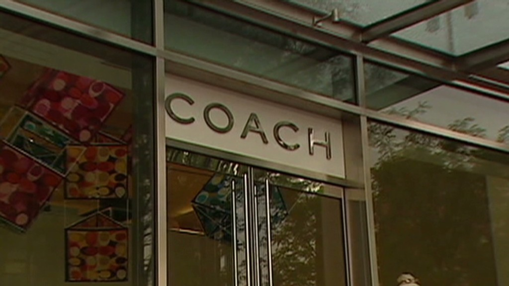 Coach bags itself a strong quarter