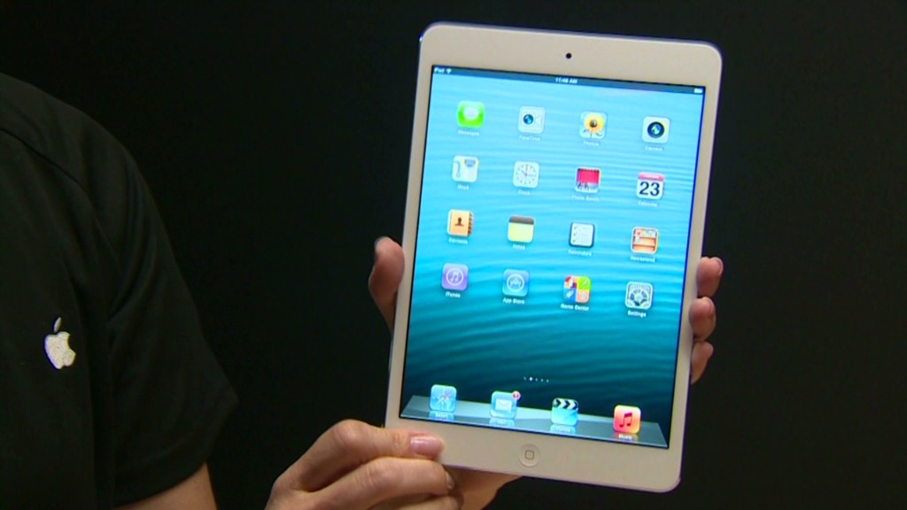 Apple Stock Falls On Exec Shakeup, IPad Mini Reviews