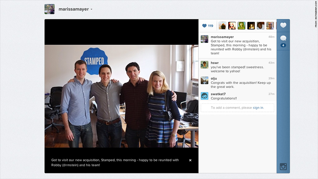 marissa mayer instagram