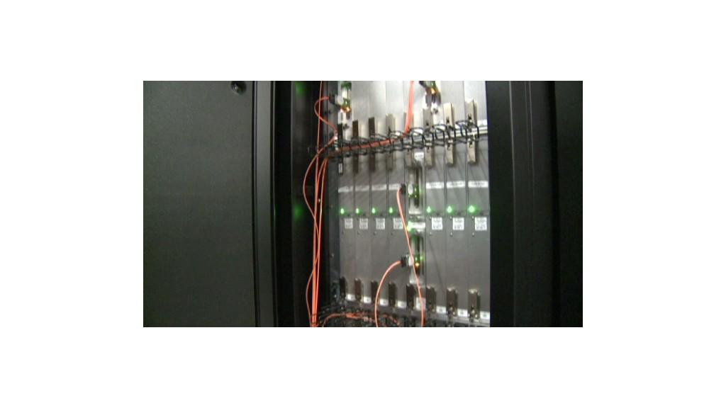 Under the hood of a supercomputer