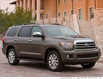 Large SUV - Toyota Sequoia - Consumer Reports names most ...