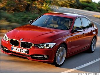 Compact sport sedan - BMW 328i - Consumer Reports names most