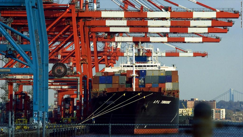 Newark shipping ports