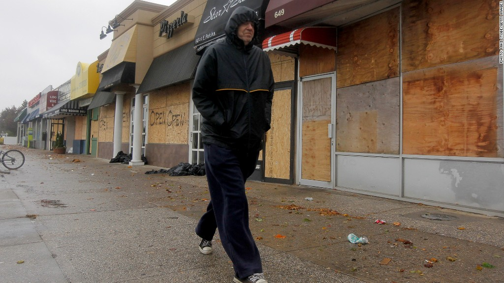 closed businesses hurricane sandy