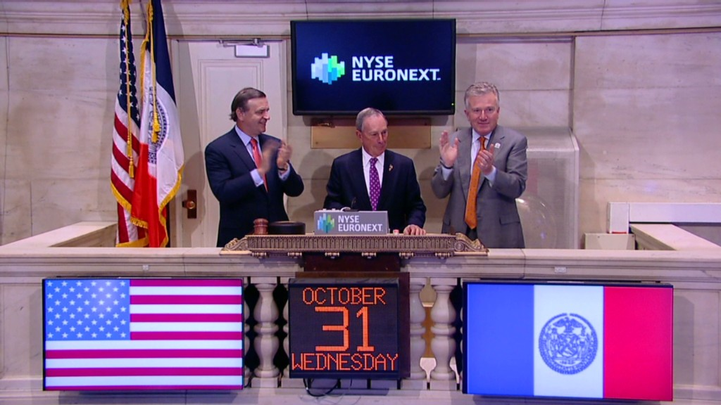 No phones or Internet, but NYSE is open