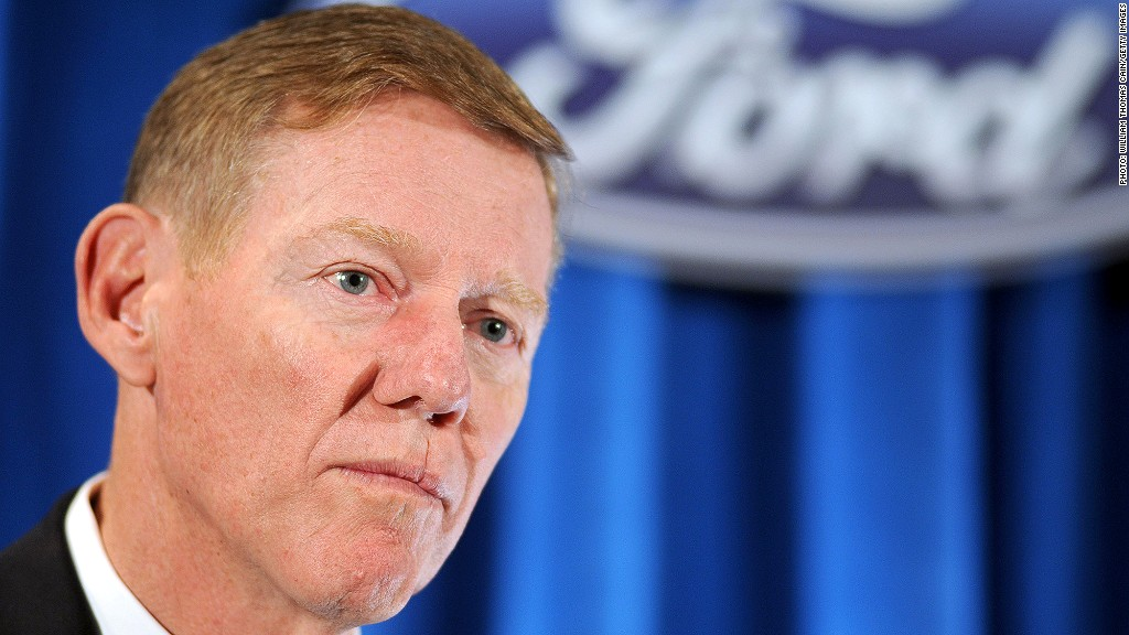 alan mulally ford retirement plan