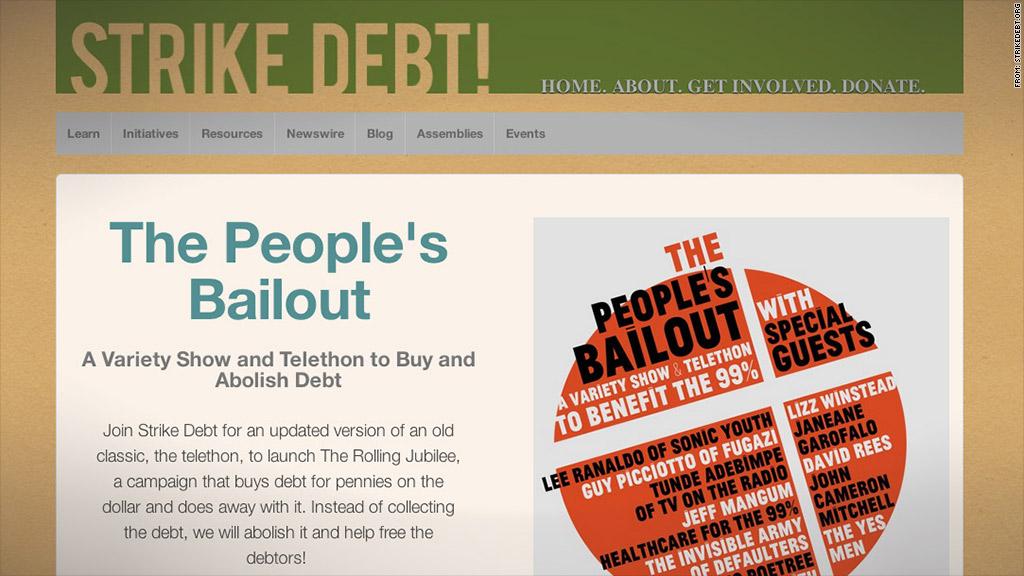 occupy debt