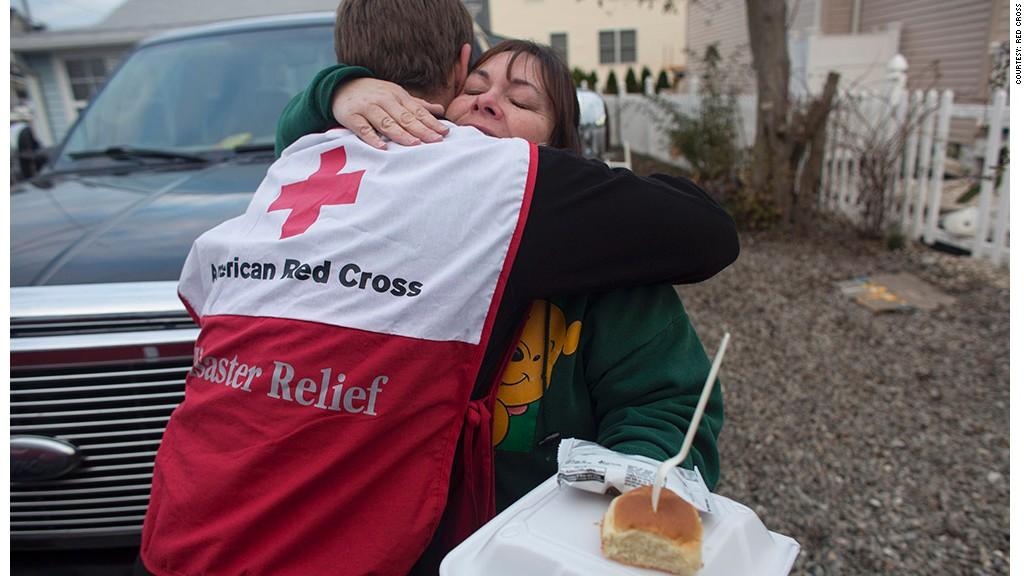 red cross meals relief