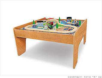 Imaginarium City Central Train Table - Toys R Us unveils Black ...