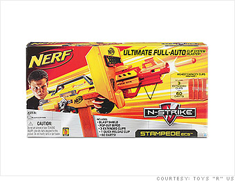 NERF N-Strike Stampede ECS-50 Blaster - Toys R Us unveils Black ...
