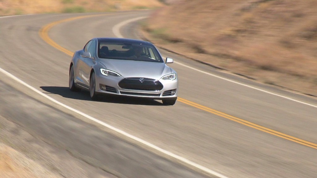 Motor Trend's Car of the Year: Tesla Model S