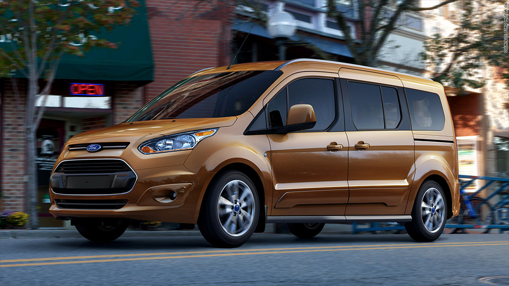 Ford Transit 12 Passenger Van >> Ford re-enters the 'don't-call-it-a-minivan' market