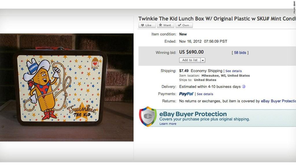 ebay twinkie lunchbox