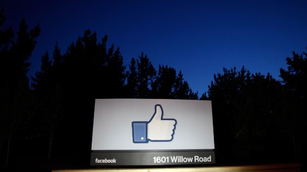 Check Facebook's stock price