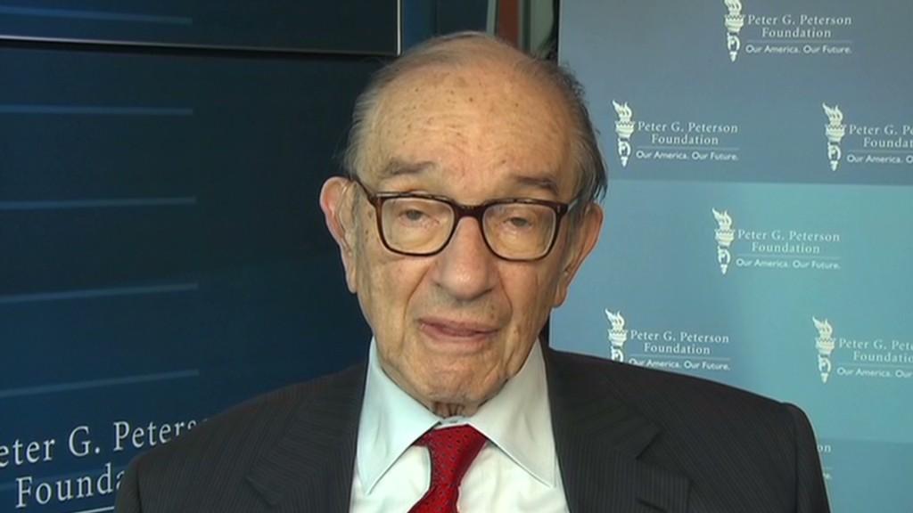 Greenspan: Repeal the debt ceiling