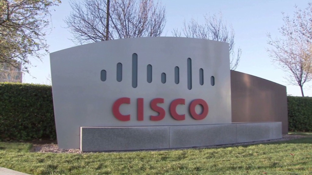 Cisco's head is in the clouds