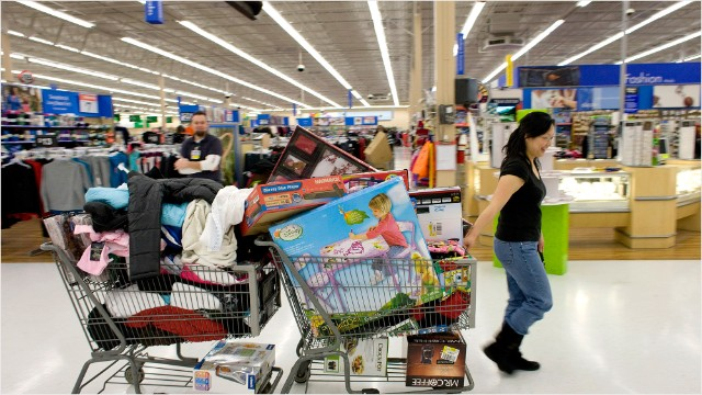 Black Friday Comes Early To Wal Mart