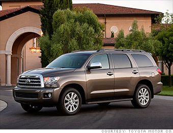 Awesome Full Size SUV   Toyota Sequoia