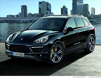 luxury mid size suv porsche cayenne best resale value cars cnnmoney. Black Bedroom Furniture Sets. Home Design Ideas