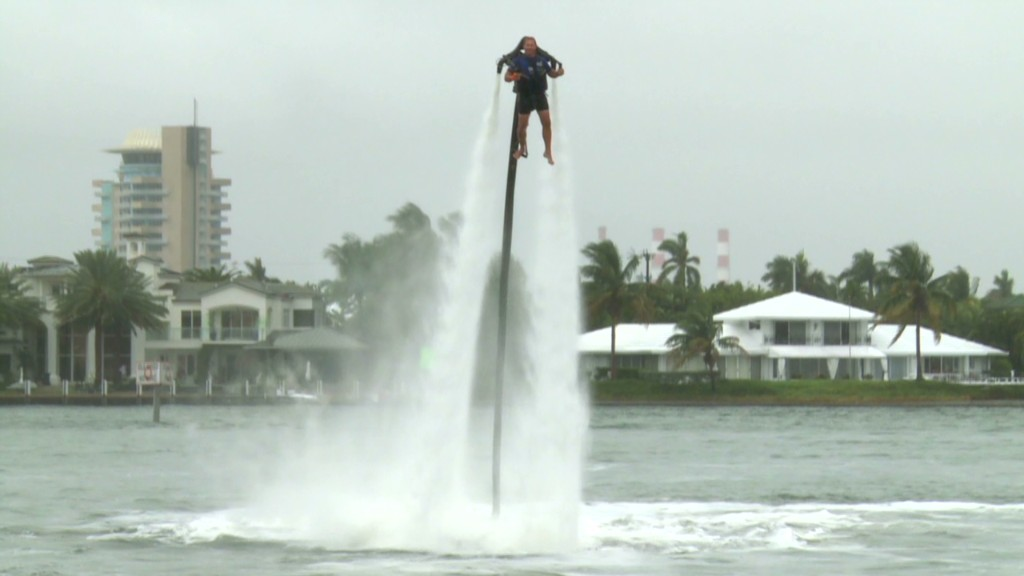 Jet pack shoots you 30ft up in the air