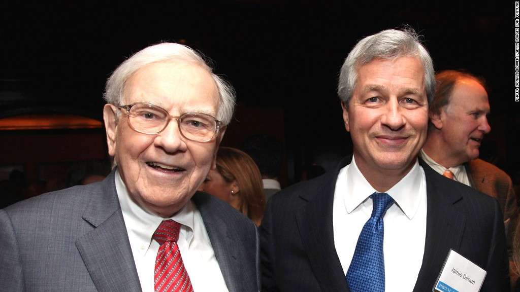 buffett dimon