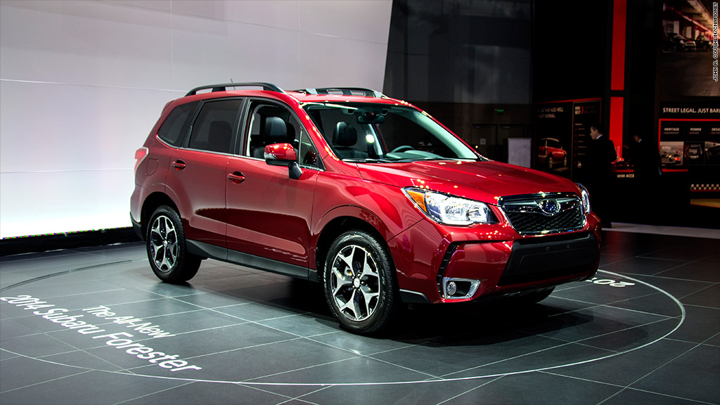 subaru forester named motor trend suv of the year. Black Bedroom Furniture Sets. Home Design Ideas