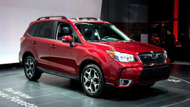Subaru Forester Named Motor Trend Suv Of The Year