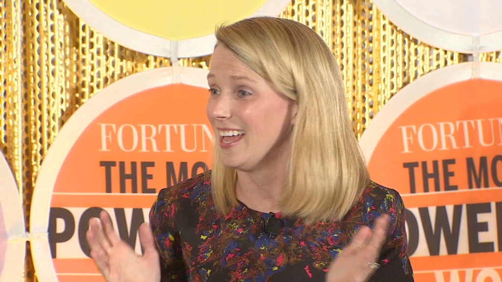 Marissa Mayer: Baby is easy, Yahoo's fun