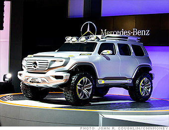 Mercedes Ener-G-Force concept - Cool cars from the Los ...
