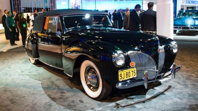 Seven classic Lincoln luxury cars
