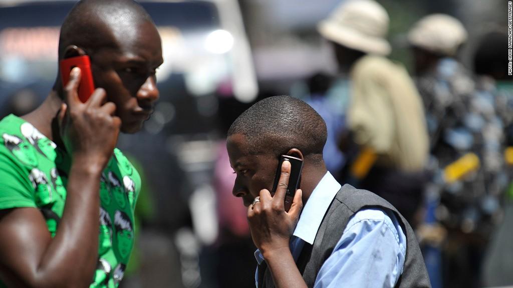 africa economy cell phones