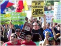 Behind the strikes at Wal-Mart, McDonald's, ports