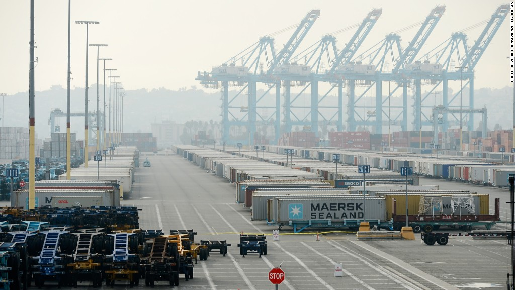 california port strike