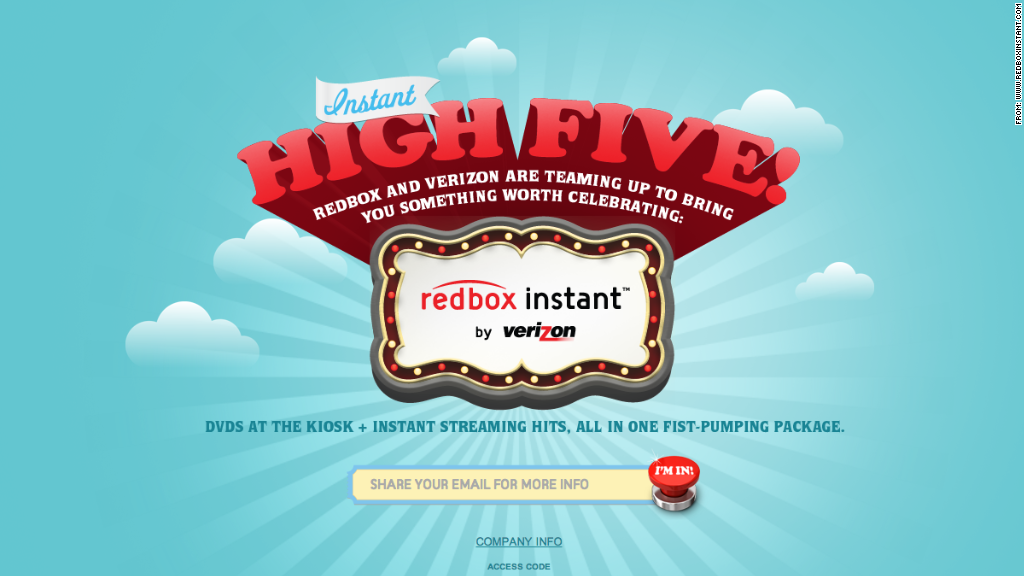 Redbox Instant video streaming priced at $8 per month, just like Netflix