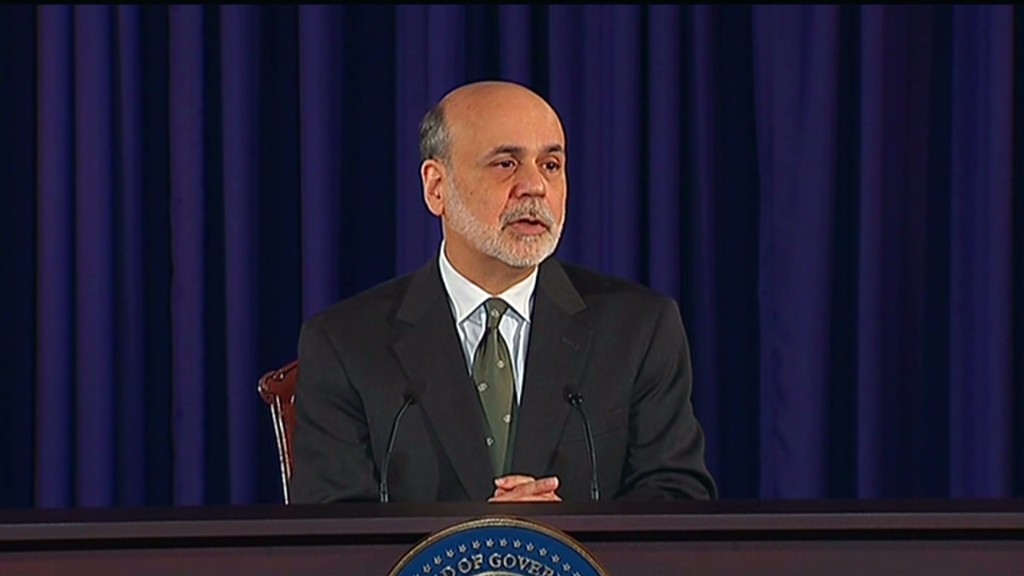 Bernanke and fiscal cliff in 90 seconds