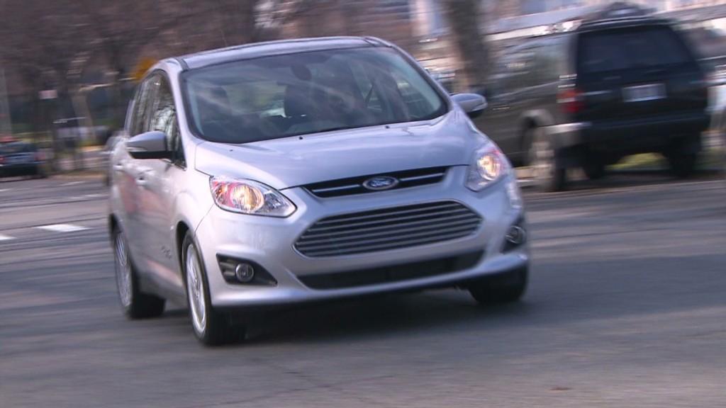 Ford C-Max: Strange looking, fun to drive