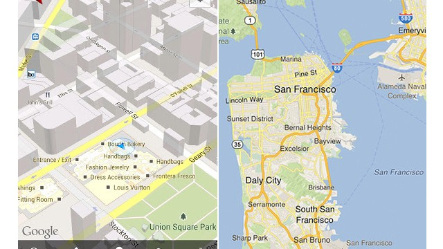 Google Maps: Is the iPhone version actually better than Android?