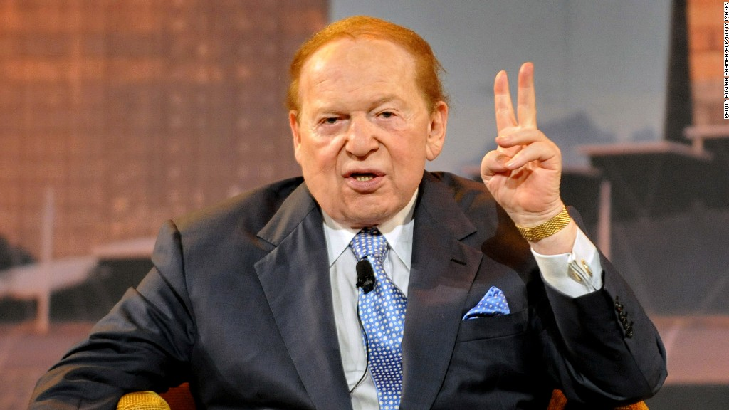 Sheldon Adelson in 88 Seconds