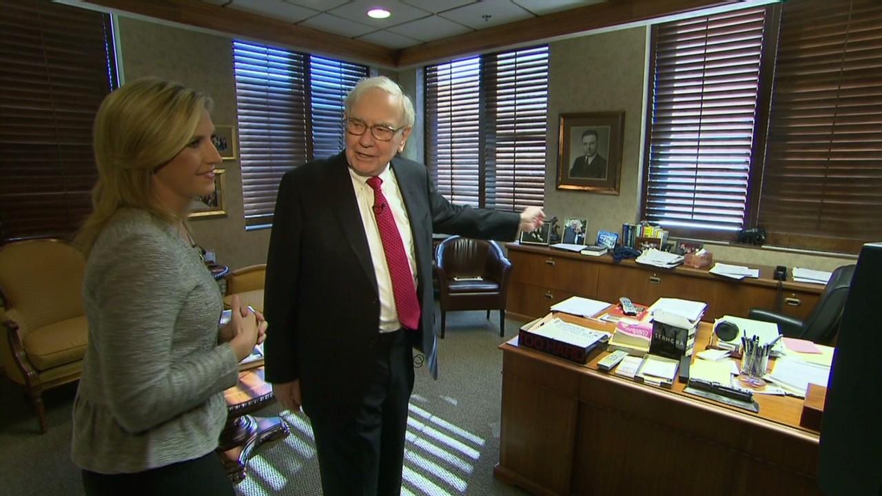 Tour Warren Buffett S Office Video Business News
