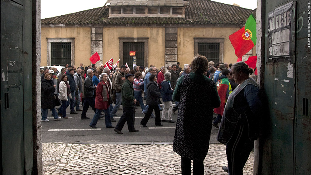 portugal demonstration